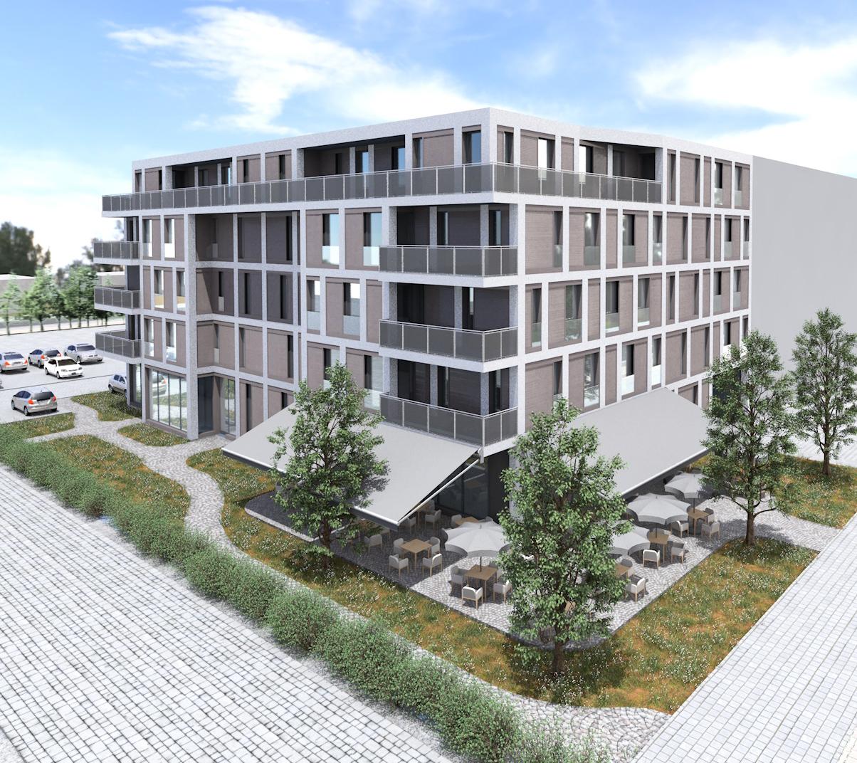 Wohn- und Geschäftshaus Ludwigsfelde: 22 Eigentumswohnungen